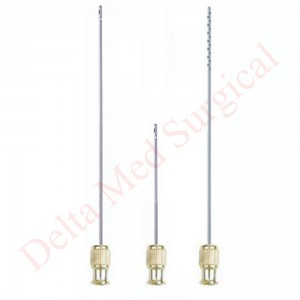 LIPOSUCTION CANNULA SET FOR FACE WITH LUER LOCK
