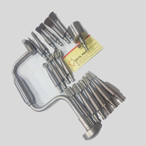 Hudson Hand Drill Brace Surgical Orthopedic 7 Pieces