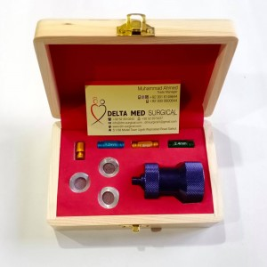 Nano Transfer Set With 3 Anaerobic Fat Transfer Adapters and 5 Extra Cartridges