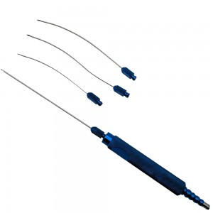 Luer Lock Cannula set of 5 with transfer adapter