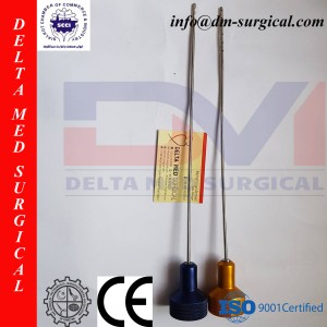 Toomey Liposuction Cannula for 60cc Monoject Syringe